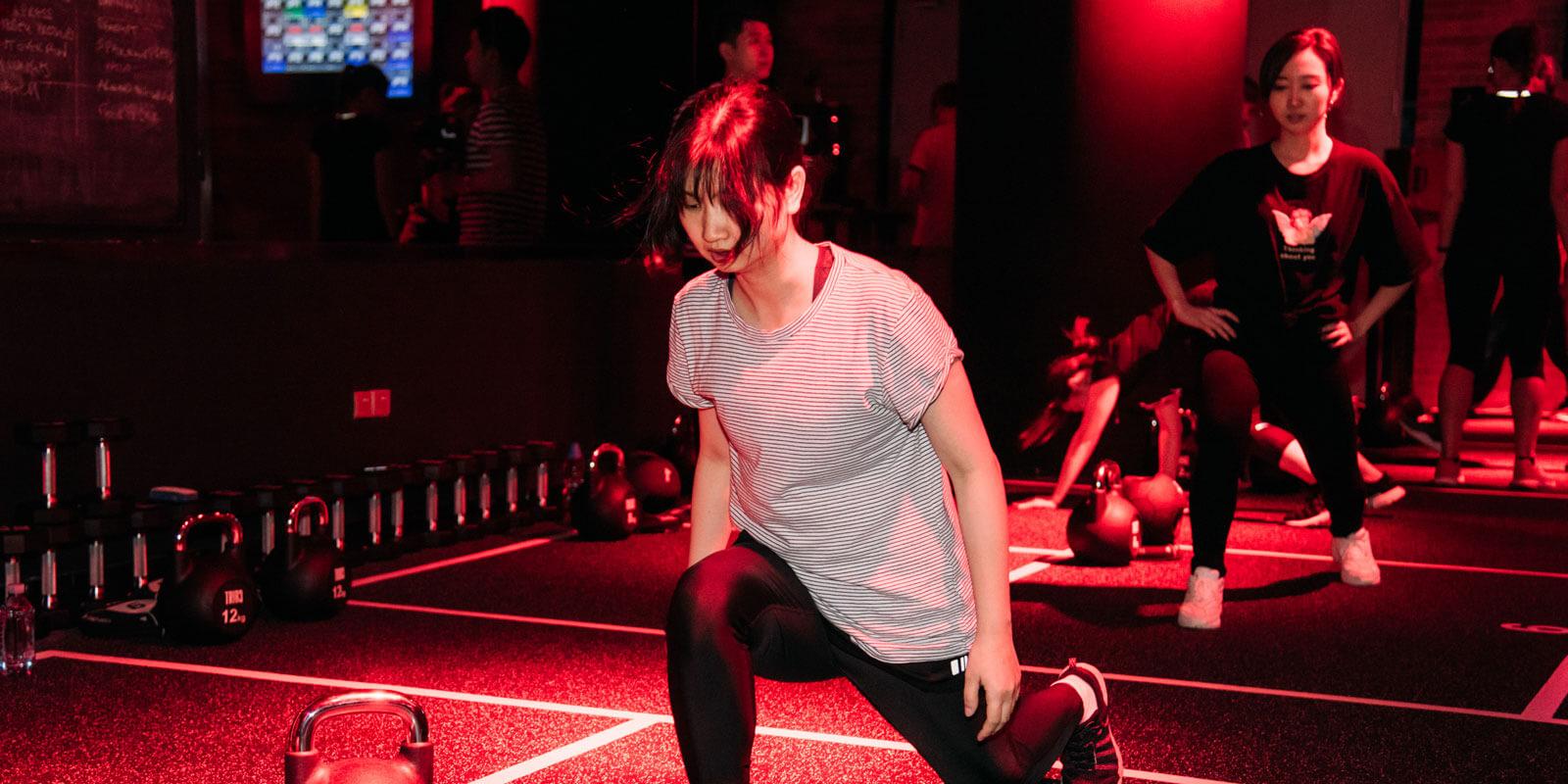 TRIB3 Guangzhou - Workout